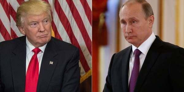 Donald Trump Y Vladimir Putin Conversaron Sobre Siria, Ucrania, Corea Del Norte Y El Acuerdo Nuclear Con Irán.