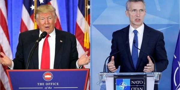 """Donald Trump Se Comprometió A Apoyar Los """"desafíos De Seguridad"""" De La OTAN"""
