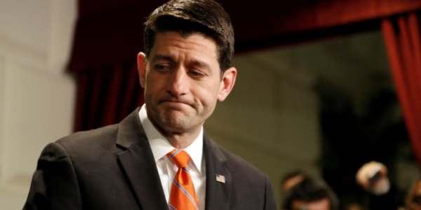 Ryan Dice A Trump Que No Hay Votos Suficientes Para El Plan Salud.