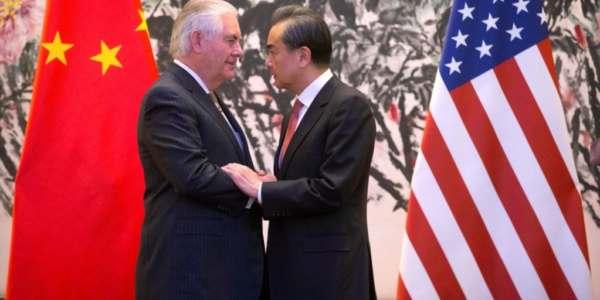 Secretario De Estado De EEUU Llega A Beijing Para Tratar Disputas Regionales.