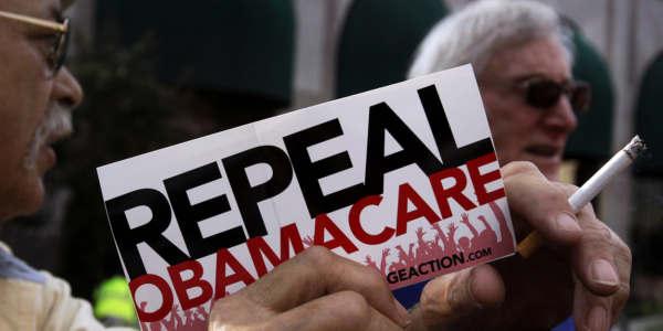 """El Partido Republicano Presentó Su Proyecto Para Reemplazar El Plan De Salud """"Obamacare""""."""