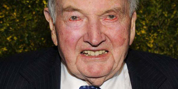 El Mundo Respira Mejor: Muere El Banquero Multimillonario David Rockefeller, Uno De Los Impulsores Del Nuevo Orden Mundial.