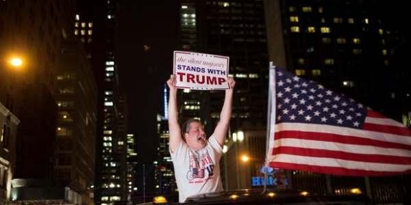 Donald Trump Gana El Pulso A La Canalla Mediática Al Mantener Intacto El Apoyo Entre Sus Votantes Estadounidenses.