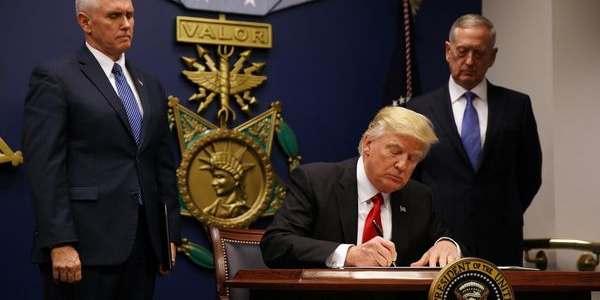 """Donald Trump Dijo Que Hay """"grandes Avances"""" En El Proyecto De Reforma Sanitaria."""
