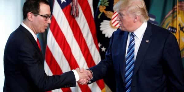 Trump Anuncia Inicio De Reforma Impositiva.