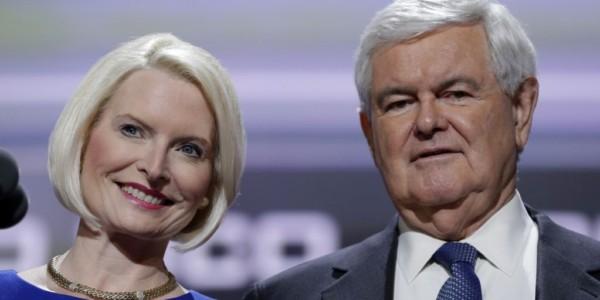Esposa De Newt Gingrich Nombrada Embajadora Ante Vaticano.