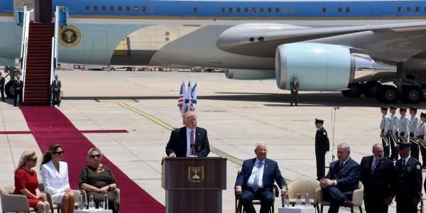 """Primer Mensaje De Trump En Israel: """"Es Maravilloso Estar Aquí En Israel"""""""