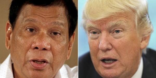 """Donald Trump Felicitó A Rodrigo Duterte Por Su """"increíble Trabajo"""" En La Lucha Contra El Narcotráfico."""