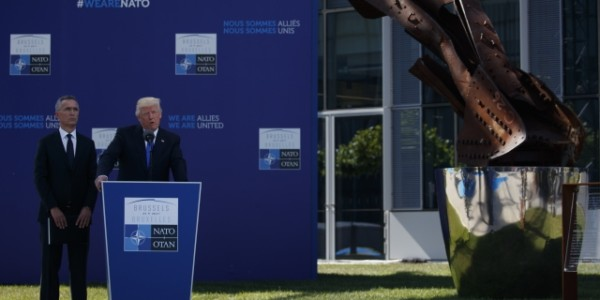 """El Discurso """"sorpresa"""" De Donald Trump En La OTAN."""