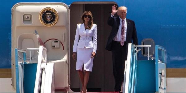 """Palabras De Trump Al Llegar A Israel: """"Vine A Reafirmar El Vínculo Inquebrantable Entre EE.UU. Y El Estado De Israel"""""""