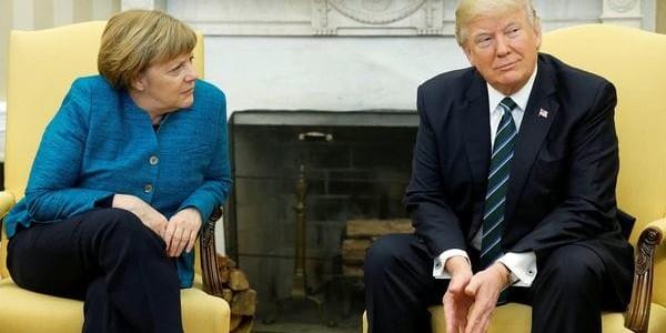 """Donald Trump, Contra Alemania: """"Tenemos Un Gigantesco Déficit Comercial Con Ellos Y No Pagan Lo Que Deberían A La OTAN"""""""