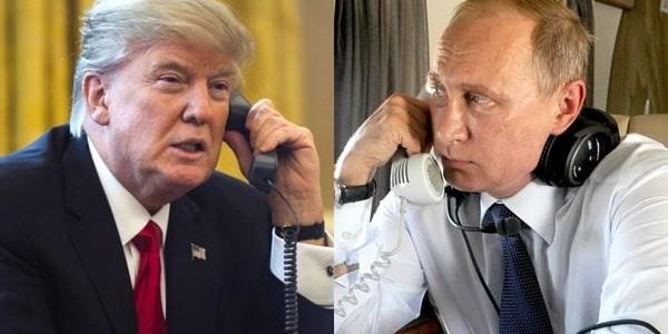 Donald Trump Y Vladimir Putin Conversarán Este Martes Por Teléfono.