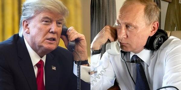 En Una Conversación Telefónica, Donald Trump Y Vladimir Putin Acordaron Coordinar Acciones Contra El Terrorismo Y Reunirse En Julio.