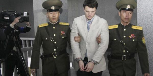 En Coma Estudiante Liberado Por Corea Del Norte.
