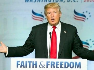 """Trump: """"Si Nuestro País Permanece Fiel Al Creador, Viviremos…"""""""