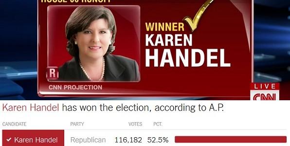 Los Republicanos Ganaron La Elección Especial Para El Congreso En Georgia.