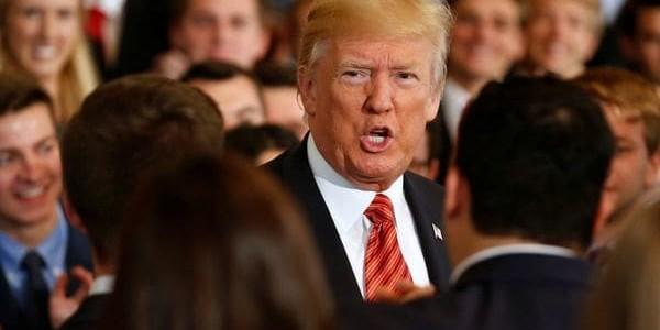"""Donald Trump Aseguró Que El Obamacare Fue """"una Pesadilla"""" Y Llamó Al Senado A Aprobar Su Reforma De Salud."""