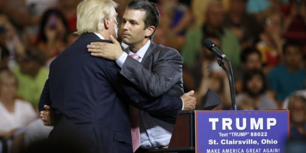"""El Presidente De EEUU, Donald Trump, """"no Sabía"""" De La Reunión De Su Hijo Con Abogados Rusos, Según La Versión De Su Hijo Trump Jr."""