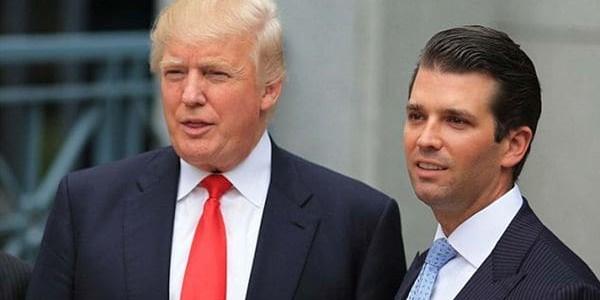 El Hijo Mayor De Donald Trump Mantuvo Un Encuentro Con Una Abogada Rusa Por Información Sobre Hillary Clinton.
