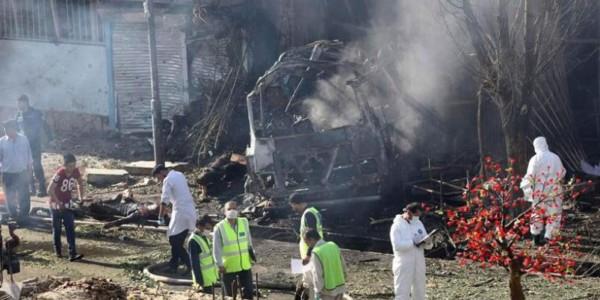 Al Menos 35 Muertos En Un Atentado Suicida Talibán En Kabul.
