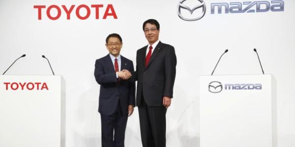 Toyota Y Mazda Invertirán 1.600 Millones En EE.UU.