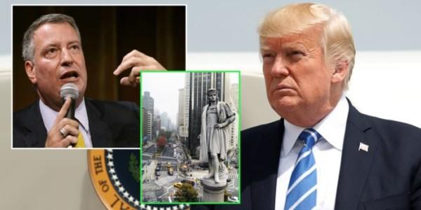 El Alcalde De NYC Quiere ELIMINAR La Estatua De Cristóbal Colón; Donald Trump Tenía RAZÓN