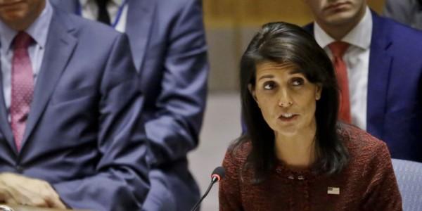 Embajadora Haley: EEUU No Descarta Embargo Petrolero A Venezuela.