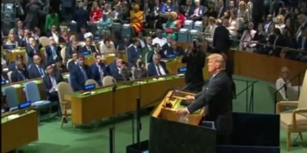 Trump Lanza Un Duro Mensaje Contra Las Dictaduras De Cuba Y Venezuela.