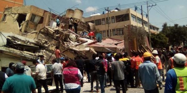 Aumenta A 225 El Número De Muertos Por El Terremoto De México.