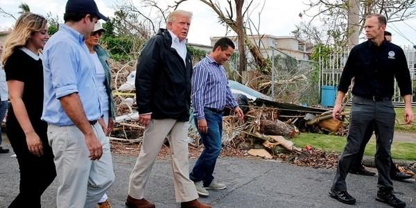 Trump Pedirá 29 Mil Millones De Dólares Para Reconstruir Puerto Rico.