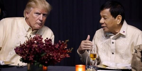 Rodrigo Duterte Descartó Que Donald Trump Vaya A Criticar Su Controvertida Guerra Contra Las Drogas En Filipinas.