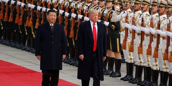 Trump Recibido Oficialmente En China Con Elaborada Ceremonia – VIDEO