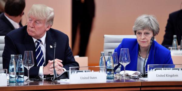 """Trump Contesta A May En Twitter: """"Céntrate En El Terrorismo Islamista De Reino Unido"""""""