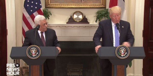 ¿Un Plan De Paz De EEUU Para Oriente Medio?