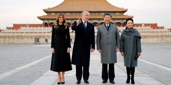 Empresas De Estados Unidos Firmaron Acuerdos Con China Por 9 Mil Millones De Dólares Durante La Visita De Donald Trump.