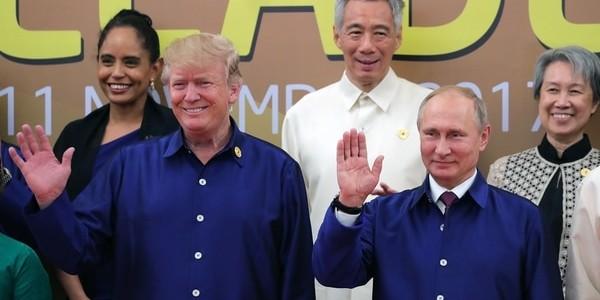 """Donald Trump Dijo Que """"tener Una Buena Relación Con Rusia Ayudará A Resolver Los Conflictos Con Norcorea, Siria, Ucrania Y El Terrorismo"""""""