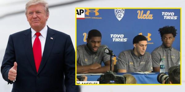 Donald Trump GANÓ; Los Jugadores De UCLA Le Agradecieron Por Sacarlos De La Cárcel En China.