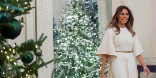 La Primera Dama De EEUU Compartió Los Preparativos De Su Primera Navidad En La Casa Blanca.