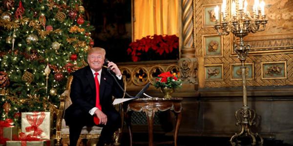 Trump Desea Una Feliz Navidad Y Afirma Que él Hizo Resurgir El Tradicional Saludo.