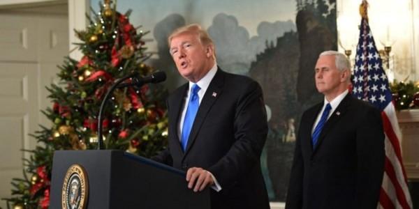 """Trump Promete """"recorte Gigante De Impuestos"""" Para Navidad."""