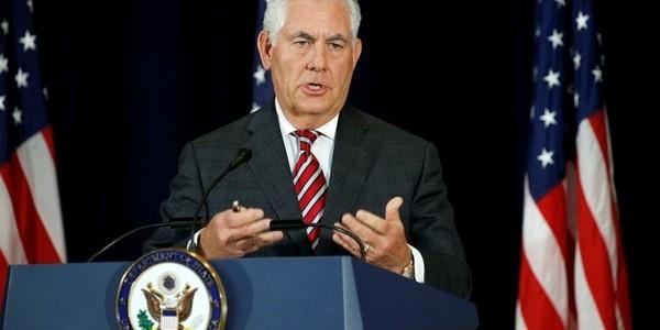 Rex Tillerson Dio Detalles Sobre Los Pasos A Seguir Para El Traslado De La Embajada Estadounidense A Jerusalén.