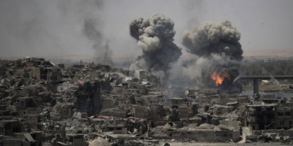 EE.UU. Abate A 150 Combatientes De ISIS En Siria.