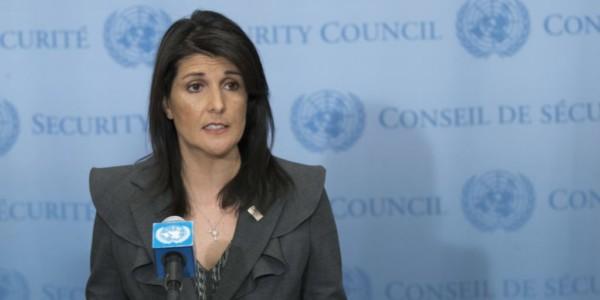 ONU: Nikki Haley Convoca A Sesión De Emergencia Sobre Irán.