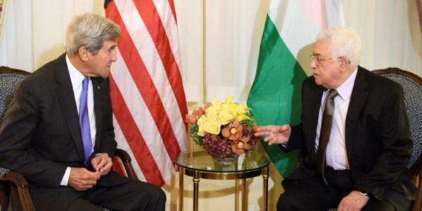 """Kerry A Confidente De Abbas: """"Manténganse Fuertes, Y No Cedan A Trump"""""""