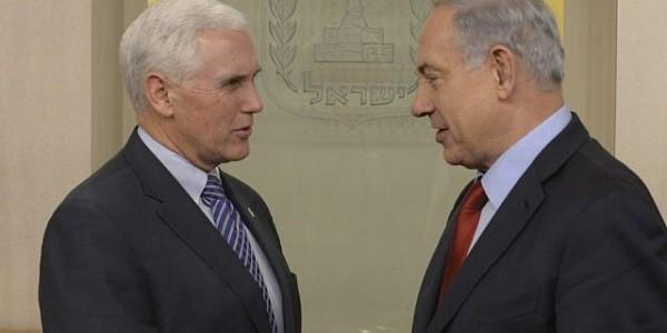 Previo A Visita De Pence, Netanyahu Dice Que No Habrá Un Avance Hacia La Paz Sin La Intervención De EE.UU.