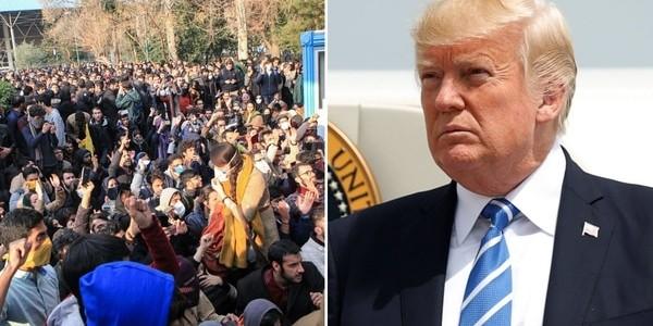"""El Mensaje De Donald Trump A Los Manifestantes Iraníes: """"Tendrán El Apoyo De EEUU En El Momento Adecuado"""""""
