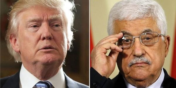 """Donald Trump Denunció Que Los Palestinos Le """"faltaron El Respeto"""" A EEUU Y Analiza Suspender La Ayuda Financiera."""