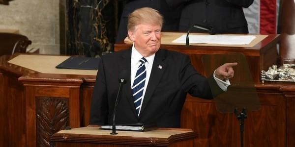 Donald Trump Pronunciará Hoy Su Discurso Del Estado De La Unión Ante El Congreso Con énfasis En La Inmigración Y El Comercio.