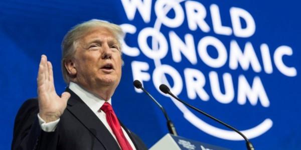 """Trump Pide En Davos Trabajar Juntos Para """"derrotar"""" Al Terrorismo."""