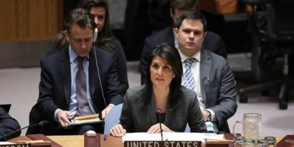 Embajadora Haley Acusa A Siria De Usar Gas Sarín En Idlib.